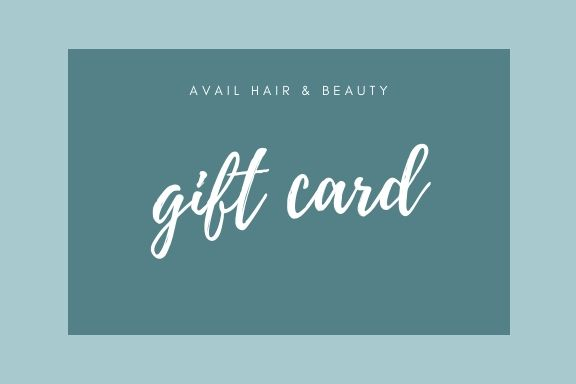 avail hair and beauty gift card